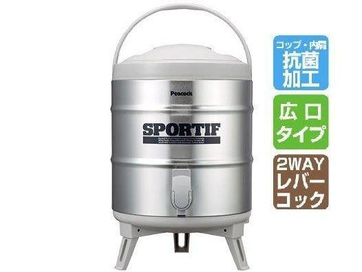 【荷本小舖】日本製 Peacock INS-80 8L 不鏽鋼 保溫保冷 飲料桶 水桶 茶桶 冷水桶  冰霸杯 冷水壺