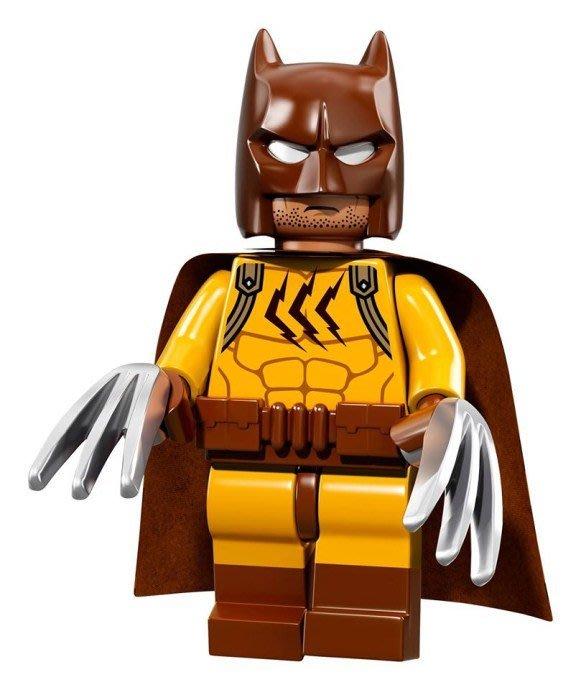 現貨【LEGO 樂高】Minifigures人偶系列: 蝙蝠俠電影人偶包抽抽樂 71017 | #16 金鋼狼 貓人