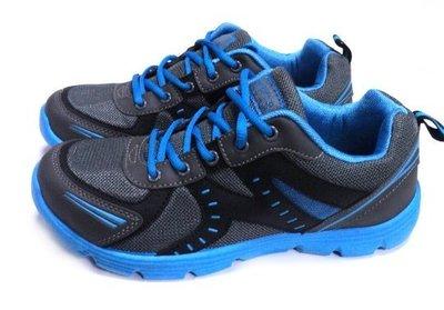 896-運動/工作/多用運動鞋~黑藍 ...