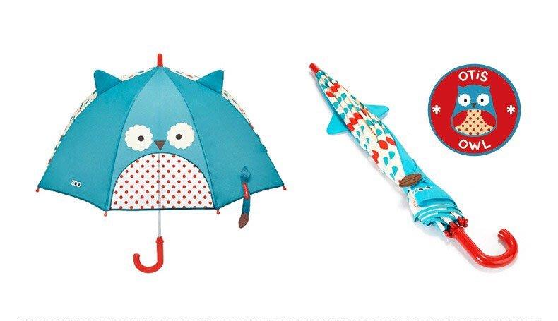 雨傘 Skip Hop 貓頭鷹 蜜蜂 長頸鹿 兒童雨傘(全新商品 立即出貨)