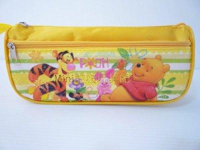 ㊣版授權仿偽雷射標籤~迪士尼 小熊維尼系列筆盒 筆袋