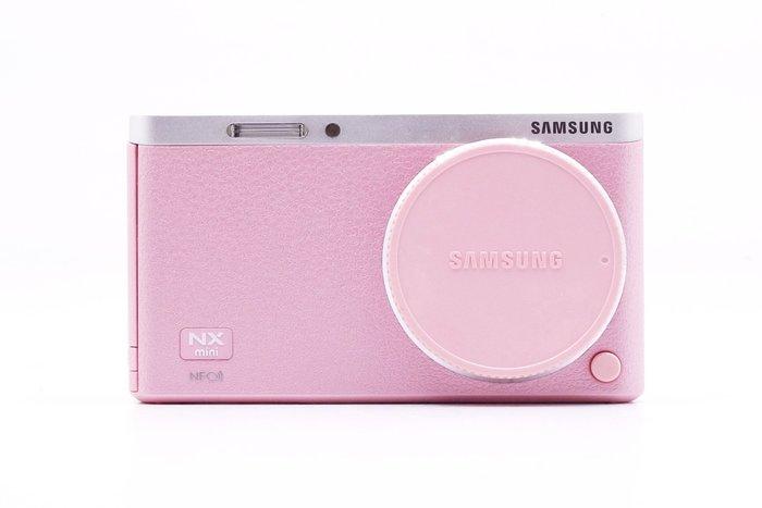 【台中青蘋果】Samsung NX mini 粉 單機身 二手 單眼相機 數位相機 #24973