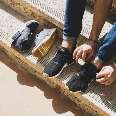 # Adidas NMD R1  黑白色 編織 BOOST 愛迪達 橡膠底 男鞋 運動鞋 休閒 B42200 YTS