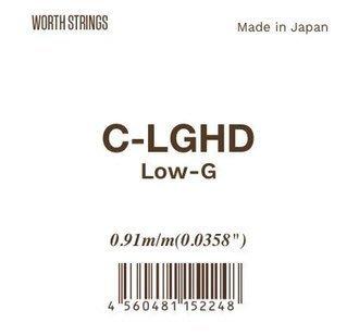 《小山烏克麗麗》日本頂級Worth string 烏克麗麗 Low G弦 C-LGHD (非套弦)