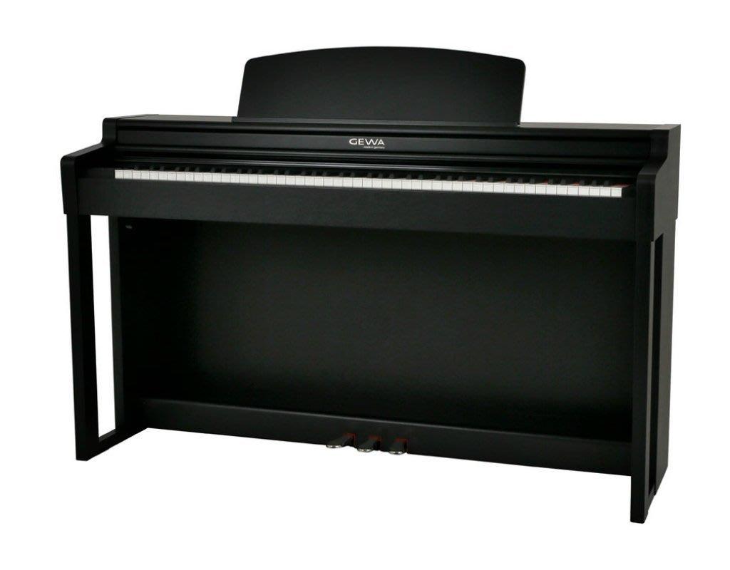 ♪♪學友樂器音響♪♪ 德國 GEWA UP260G 數位鋼琴 黑色 電鋼琴 88鍵 史坦威音色 Steinway