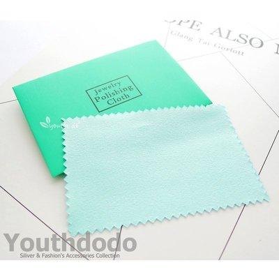 高級小片包裝藍色拭銀布,一片只要8元喲...