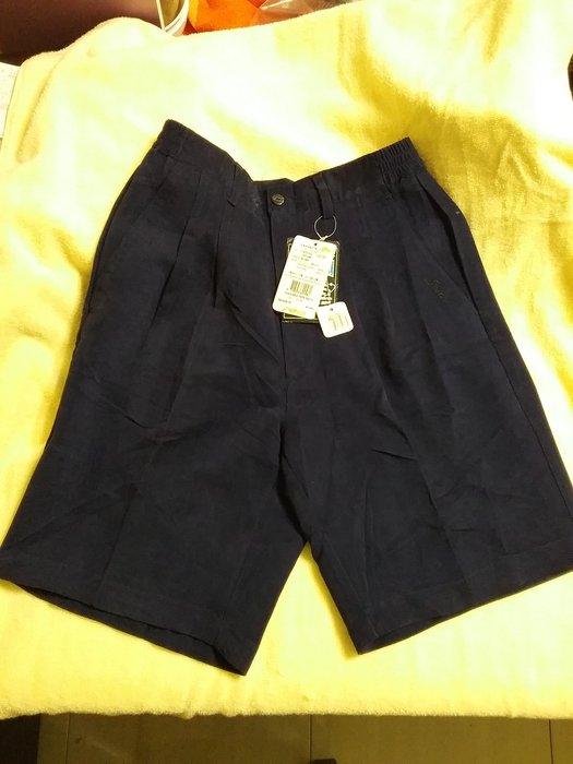 大牌SASAKI川崎女用西裝式 款短褲,深藍色,牌價1380 如 介紹絨布非常保暖M碼 L