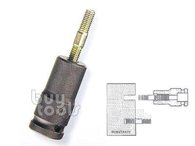 """台灣工具-《專業級》雙頭螺絲套筒/雙螺牙螺絲/無頭螺絲植入套筒、(1/2"""")四分*6~10mm/每顆售價「含稅」"""