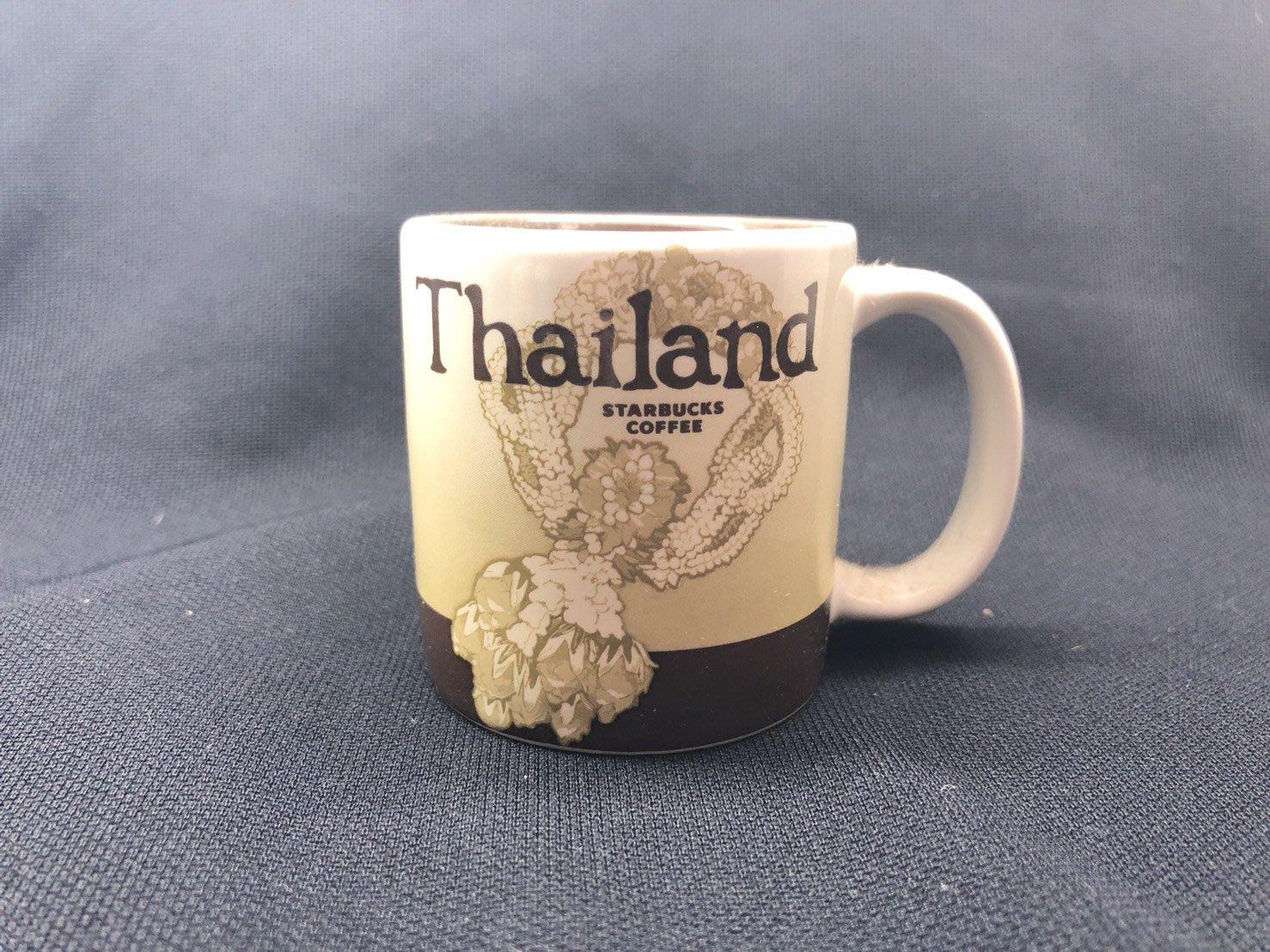 [現貨正品] 星巴克城市杯Starbucks city mug 小杯   泰國 Thailand