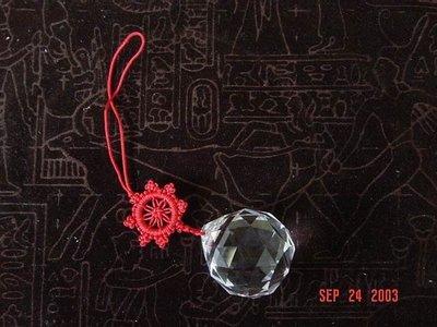 有切面之水晶球--已請老師淨化加持並附上安置吉課及安置說明
