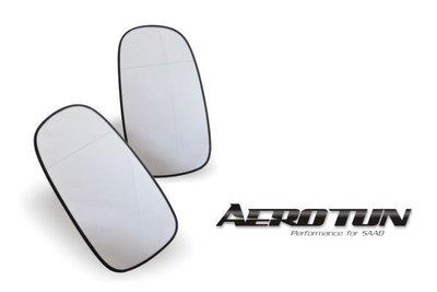 【AEROTUN】全新SAAB紳寶 9-5 95 9-3 93 SC/SS 後視鏡片 照後鏡片 後照鏡片 除霧 廣角 後視鏡