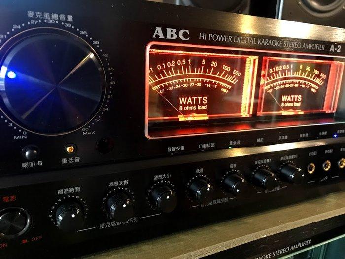 2018年新機上市台灣製造唱歌聲音再進化最優美ABC卡拉OK專業A-2ll擴大機300瓦大功率採用歐美零組件超好唱推薦