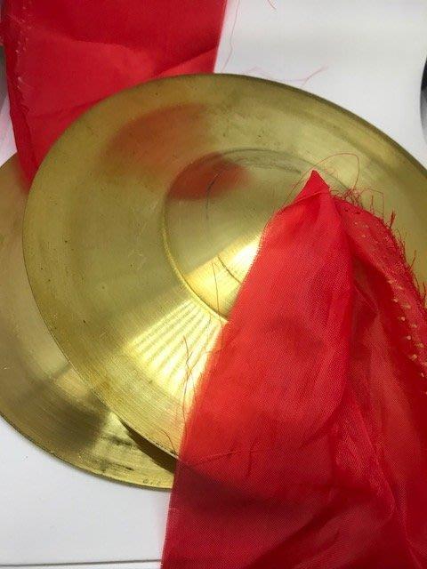 筌曜樂器(J2053)全新 打擊 奧福 節奏樂器 7吋 銅鈸 凸鈸 京鈔 19CM (京鈸 下板)