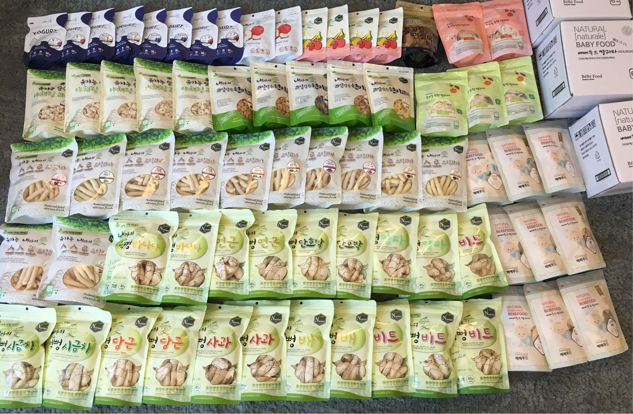 韓國 Naeiae 米餅 米圈 米棒 優格球 BEBEFOOD 寶寶福德米餅