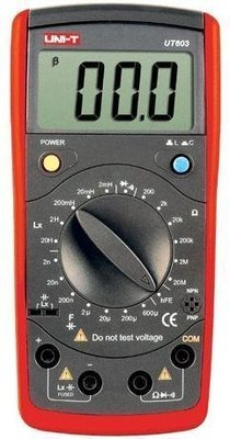 TECPEL 泰菱 》UNI-T 優利德 UT603 數位 LCR 測試儀 LCR 電容 電感 電阻 專用錶 SMD UT-603