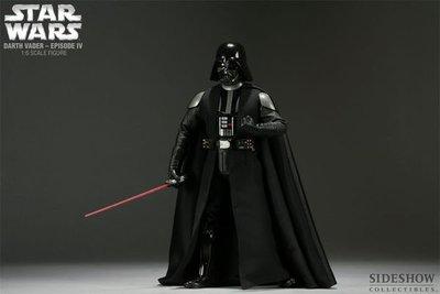 SIDESHOW 星際大戰 STAR WARS Darth Vader Sith Lord 黑武士