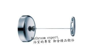 JUSTIME 巧時代 不鏽鋼 伸縮晾衣繩 曬衣繩 掛衣繩 長2米 荷重約5公斤 0810-68-7900