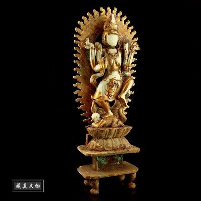 【藏真密宗】唐代.藏傳佛教博物館藏級....