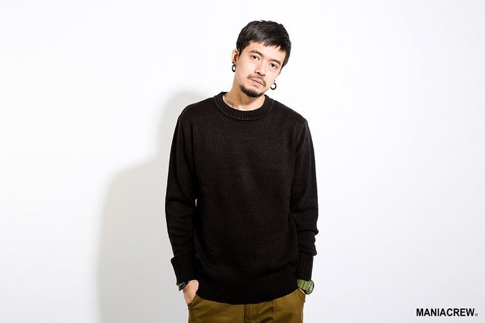 [NMR] MANIA 長袖 毛衣 內搭 17 A/W Basic Sweater