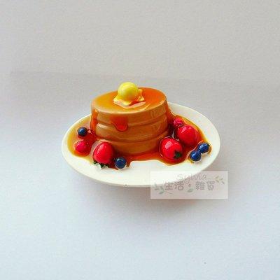 ❤生活。雜貨❤易付免運 鬆餅 草莓 藍莓 蜂蜜 afternoon tea 冰箱磁鐵 吸鐵 精緻 現貨《水果鬆餅》