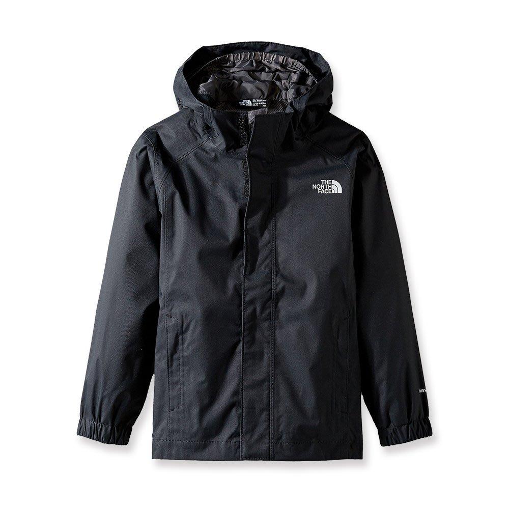 美國百分百【The North Face】連帽外套 TNF 北臉 夾克 Dryvent 防水 透氣 黑色 S號 I713