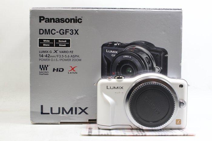 【高雄青蘋果3C】PANASONIC LUMIX DMC-GF3 單機身白 #20335