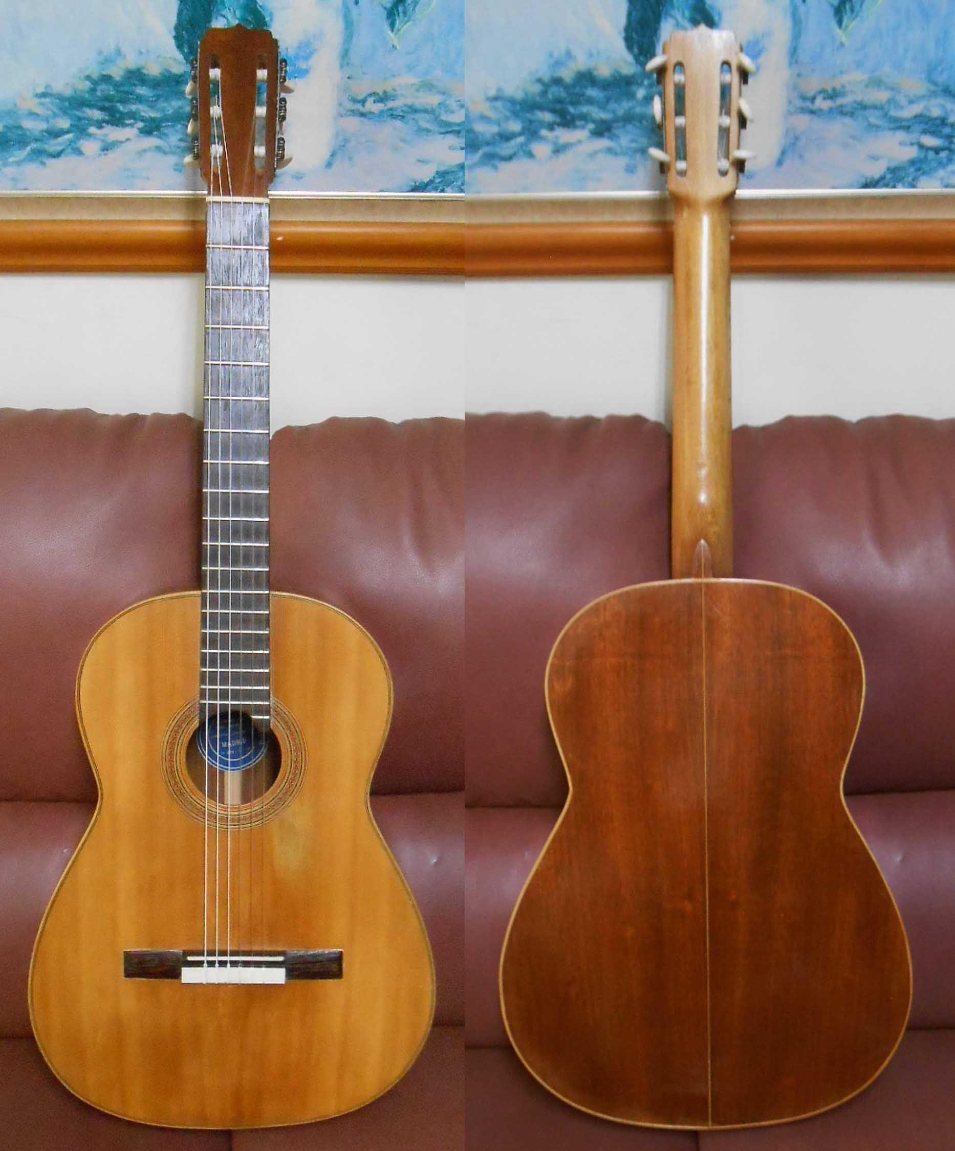絕版珍藏西班牙Jose Ramirez 拉米雷滋NO2全單板古典吉他