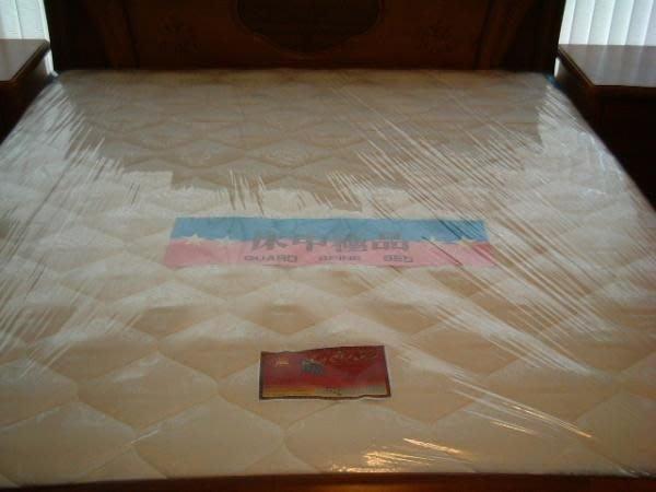 ※專業睡眠館※歐式『標準硬式』鎢鋼護背彈簧床墊 雙人5尺~雙ISO國際品質認證