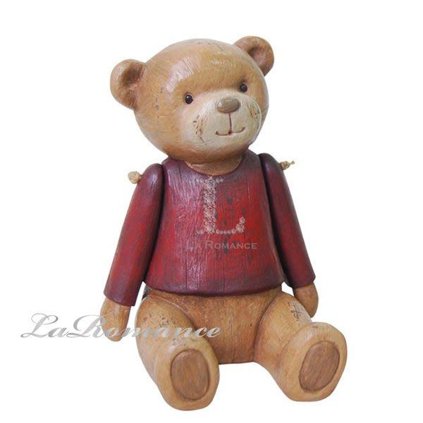 【芮洛蔓 La Romance】德國 Heidi 童趣家飾 - 紅衣寶貝熊 (共三尺寸) / 泰迪熊 / 聖誕節