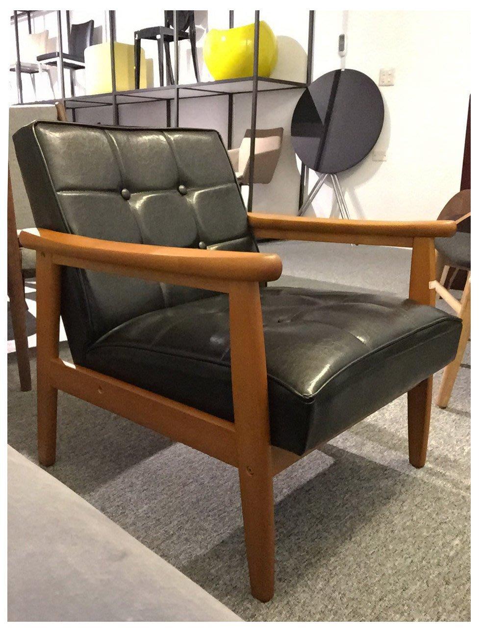 [ 椅子王 ]---復古工業風 LOFT , K Chair  單人沙發 復刻版 《大特價》 不能換色