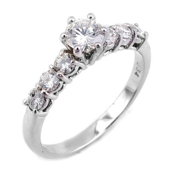 【JHT 金宏總珠寶/GIA鑽石專賣】0.34克拉天然鑽石戒指/材質:18K(D000149)