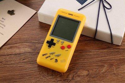 怀旧游戏机iPhoneX款大屏 俄罗斯方块机 3.5吋大萤幕 掌机经典儿童老人益智玩具 礼物 掌上游戏机