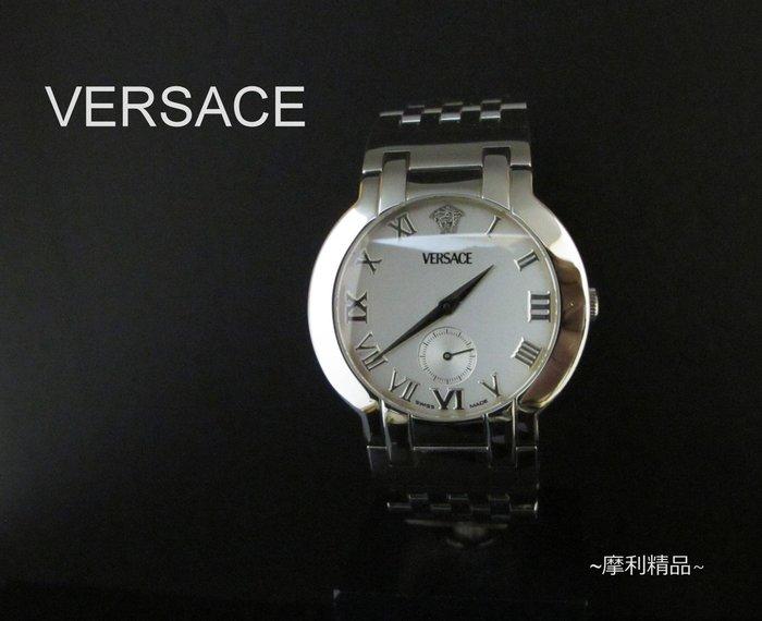 【摩利精品】Versace 凡賽斯小秒盤錶   *真品* 低價特賣中