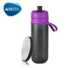 健身/露營專用*新款第3代德國 BRITA Fill&Go 0.6L 隨身濾水瓶 濾水壺 內贈專用提帶紫色 現貨490元