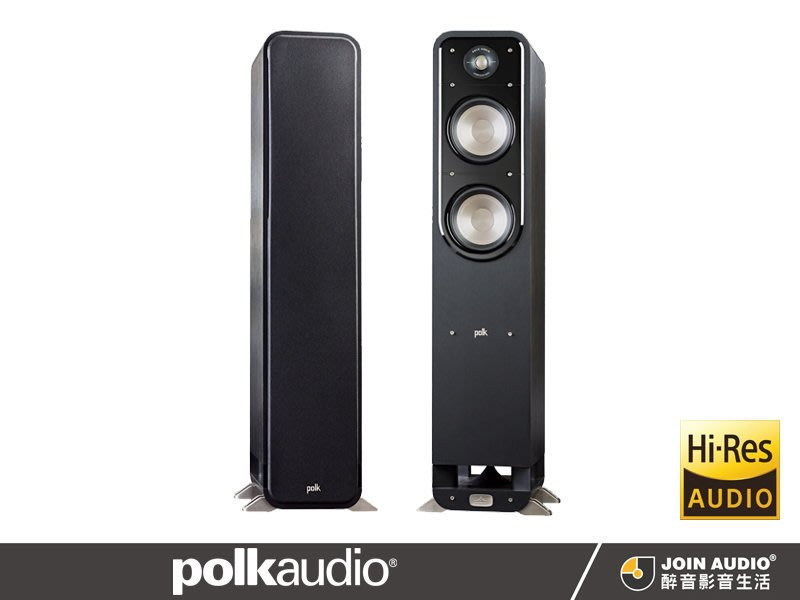 【醉音影音生活】美國 Polk Audio Signature S55 落地式喇叭.2.5音路3單體.公司貨