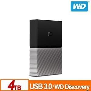 @电子街3C 特卖会@全新  WD My Passport Ultra 4TB(黑银,白金) 2.5吋行动硬盘