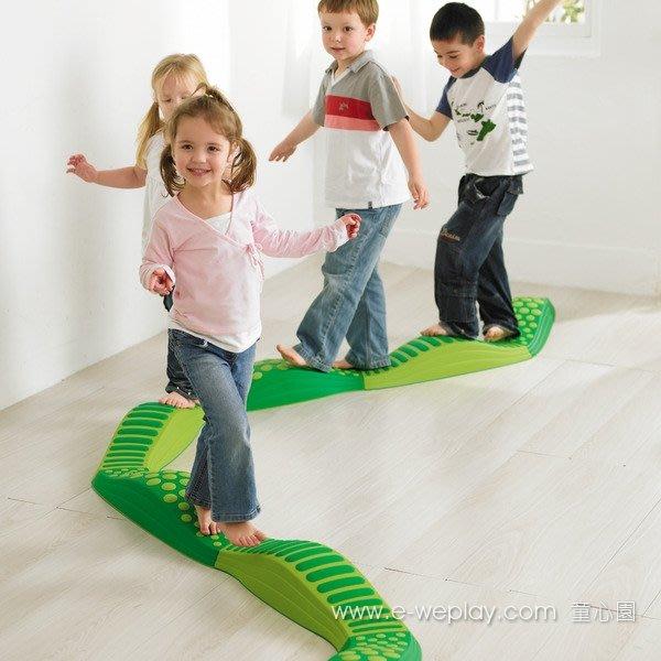 ※旭陽教育用品社※感統系列 童心園Weplay波浪觸覺步道-綠光森林/幫助孩子了解身體重心與平衡訓練