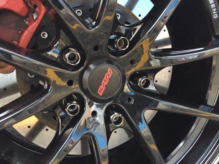 ☆光速改裝精品☆CWD 外六角 鋁圈螺絲 螺母  海拉 黑色 鍍鉻  1.25牙