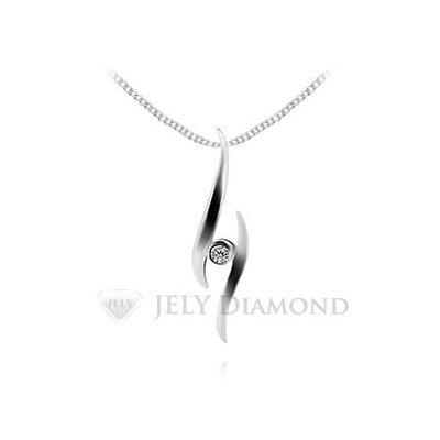 《JELY時尚館》【JELY Diamond】燦爛光華---3分天然真鑽石項鍊 §會員終生獨享交換維修優惠§