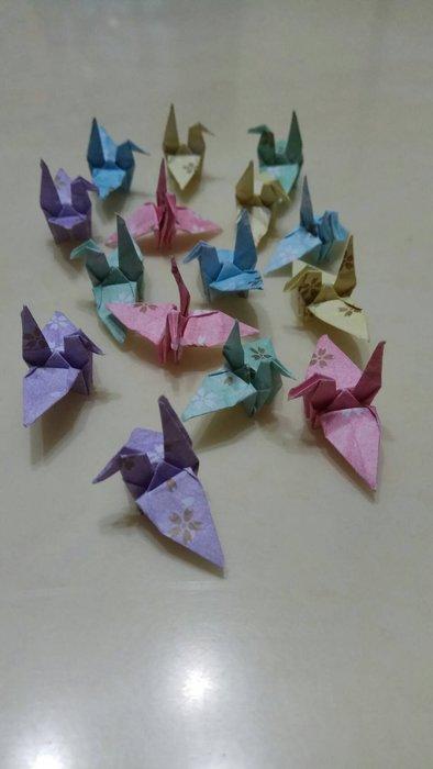 ※Amy小舖※~手工摺紙 紙鶴 千紙鶴 ((最佳禮物/情人節/畢業典禮/聖誕節/生日禮物 ))