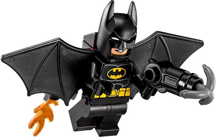 現貨【LEGO 樂高】2017 最新款 全新正品 積木/ 單一人偶: 黑色硬翅膀 蝙蝠俠+武器  黑暗騎士 Batman