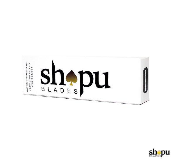 GOODFORIT / 美國SHAPU Blades Platinum Double Edge黑桃白金刀片/一百入