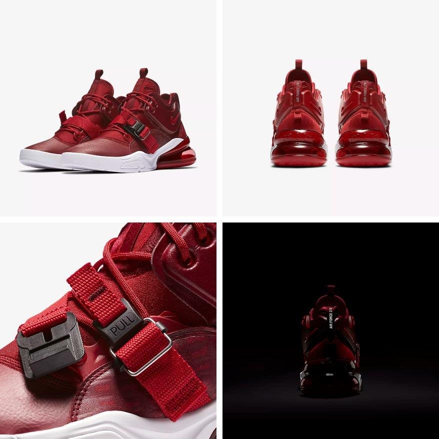 Nike Air Force 270 AH6772-600 男鞋 紅色 氣墊鞋