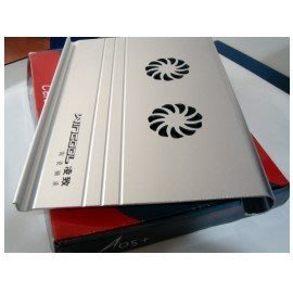 (A05+) USB全鋁合筆記本電腦散熱墊(加寬適合寬螢幕(可調風速)