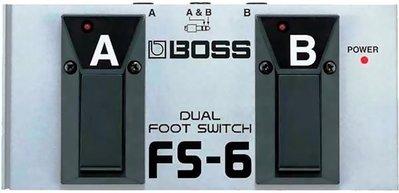 ☆ 唐尼樂器︵☆ Boss FS-6 電吉他效果器/音箱雙功能切換開關踏板(結合 FS-5L 和 FS-5U)