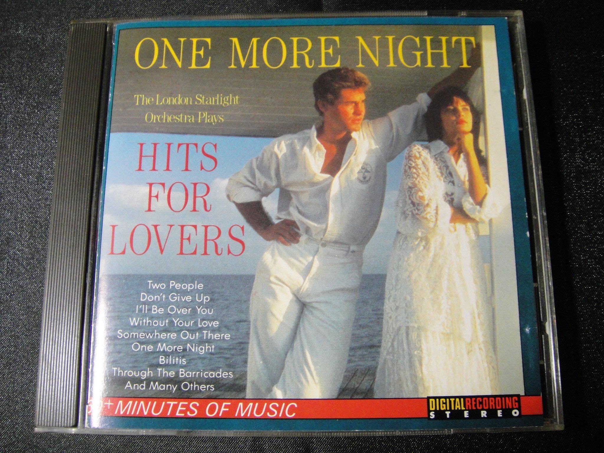 【198樂坊】One More Night Hits For Lovers(Two People.瑞典版)BS