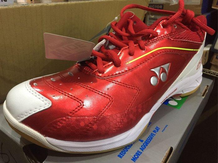 (羽球世家)Yonex she-65 AW 寬楦羽球鞋 紅色 售價2280 yy