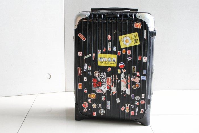 【高雄青蘋果3C】RIMOWA 行李箱 8805220060233 黑  #18522