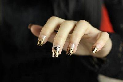 【愛來客】時尚摯愛豹紋美甲貼片  24片裝(現貨)