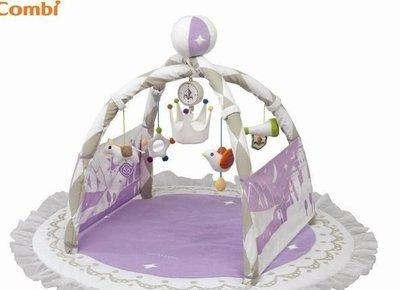 ♪♫瑋瑋城堡✲玩具出租♪♫ (二手出售)Combi smile labo 城堡遊戲墊